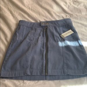 corduroy mini skirt from pac sun!